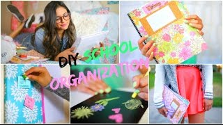 Back to School: DIY Organization! School Supplies & Room decor! - YouTube