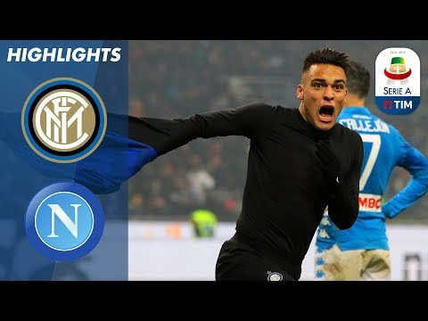 Inter 1-0 Napoli | Martínez Sinks 10 Man Napoli With A Last Gasp Goal | Serie A