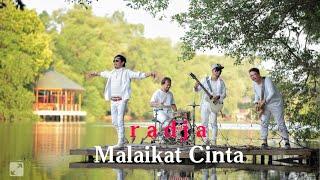 Malaikat Cinta - Radja - Official video lirik !!