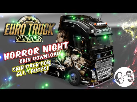 Horror Night Skin Pack for All Trucks