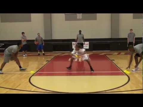 Elite Hoops and Nike Basketball Camps presents the Switch Cone Slides & 2 Ball Power Dribble Drills