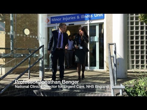 NHS England's urgent care clinical director visits Wycombe Hospital