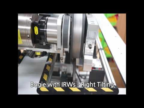 Bogie with IRWs - Right Tiliting