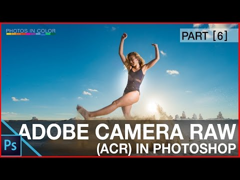 How to use Adobe Camera Raw In Photoshop CC