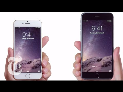 video review - The iPhone 6 Plus and iPhone 6 rival the competition in sheer size. But when it comes to taking advantage of those bigger screens, Molly Wood says, Apple's new phones don't always measure...