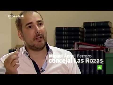 Miguel Ángel Ferrero, Portavoz Socialista a la Alcaldía de Las Rozas, denunciando en @laSextaTV #EquipodeInvestigación el escándalo de la Ciudad del Fútbol de #LasRozas