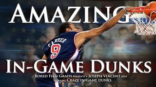 Amazing In-Game Dunks by Joseph Vincent