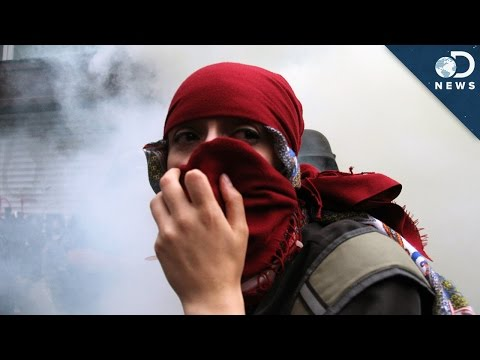 tear - The use of tear gas on crowds by police in Ferguson, Missouri has made recent headlines. SourceFed's Reina Scully explains what tear gas does to your body and how treatment works after tear...