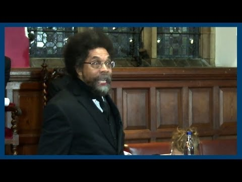 occupy wallst - Cornel West gives his commanding proposition to the motion of
