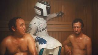 F 1SUMMER BREAK  THE FINISH SAUNA ( BELGIAM GP COUNTDOWN)