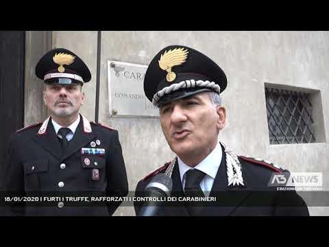 18/01/2020 | FURTI I TRUFFE, RAFFORZATI I CONTROLLI DEI CARABINIERI
