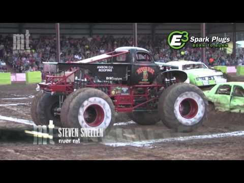 TMB TV: MT Unlimited 4.9 - Toughest Monster Truck Tour - West Plains, MO 2013