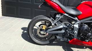 6. 2011 Triumph Street Triple R for sale QLD