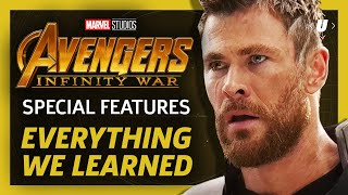 Video Everything We Learned From Avengers: Infinity War's Special Features MP3, 3GP, MP4, WEBM, AVI, FLV Oktober 2018