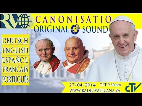Canonization of John XXIII and John Paul II