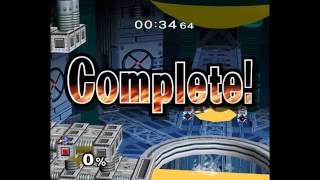 Escape From Brinstar TAS: Falco +34.64 [World Record] (With Slow-Mo Side-By-Side To Previous Record)