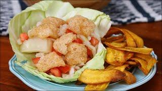 Nicaraguan Vigorón and Tajadas by Tasty