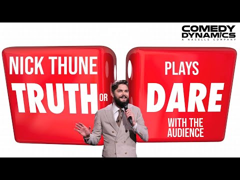 Nick Thune - Audience Truth Or Dare (Stand up Comedy)