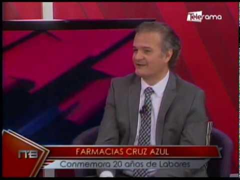 Farmacias Cruz Azul conmemora 20 años de labores