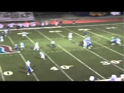 Daniel Davidson QB #12 junior football highlights