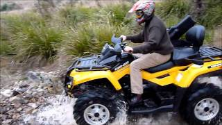 8. Review Can Am Outlander 650 Max XT