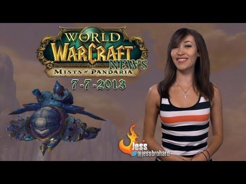 World of Warcraft News 7-7-13