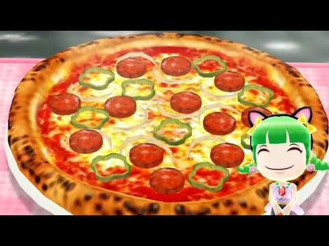 Cooking Mama Unlock Recipes | Pizza | Kids Gameplay