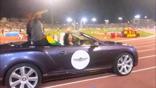 Teddy Afro @ IAAF Diamond League: Doha, QATAR 2014