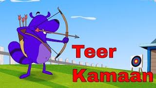 Video Pyaar Mohabbat Happy Lucky - Ep.37 | Teer Kamaan | Hindi Animated Cartoon Show | ZeeQ MP3, 3GP, MP4, WEBM, AVI, FLV September 2018