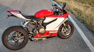 4. Ducati Panigale 1199 S Tricolore with Termignoni - Start up and Sound