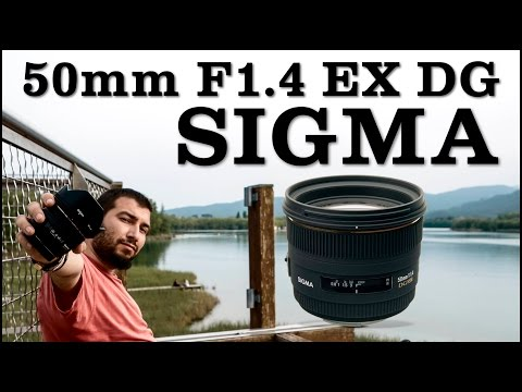 SIGMA 50mm F1.4 EX DG - Review en español