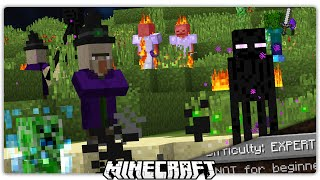 New Difficulty RELEASED! Minecraft Expert Mode Custom Command [1]