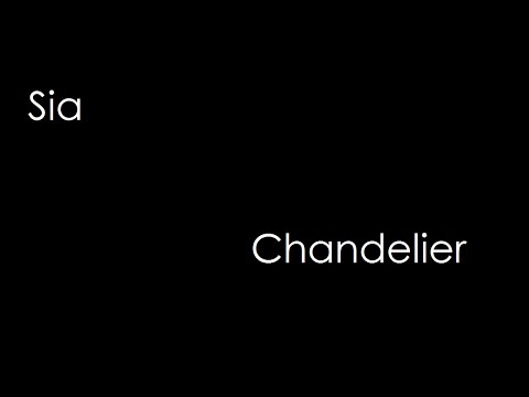Sia - Chandelier (lyrics) Mp3