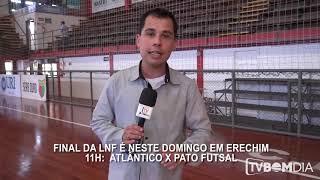 Pocoyo português Brasil - Pré - Jogo 16h - Final da LNF - Atlântico x Pato Futsal