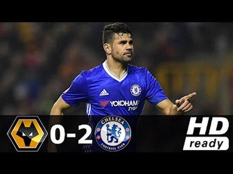 Wolves vs Chelsea 0-2 ● All Goals & Extended Highlights ● FA Cup ● 18/02/2017 [HD]