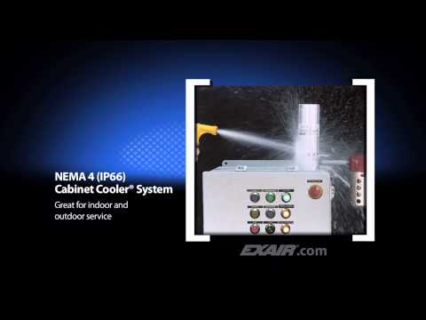 CE Compliant Cabinet Coolers for Electrical Enclosures Video Image