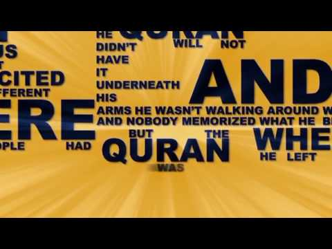 eemaan - From Kufr to Eemaan من الكفر إلى الإيمان What Are They Saying About: ISLAM? :