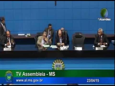 Aprovação do PL 049/15 na Assembleia Legislativa