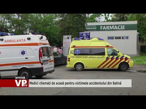 Medici chemați de acasă pentru victimele accidentului din Salină