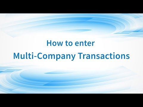Multi-Company Accounting Software