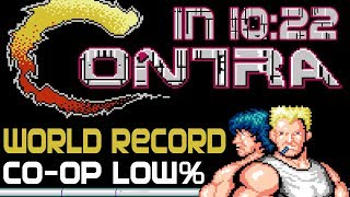 Video [World Record] Contra Low% in 10:22 (Co-op) MP3, 3GP, MP4, WEBM, AVI, FLV Maret 2019