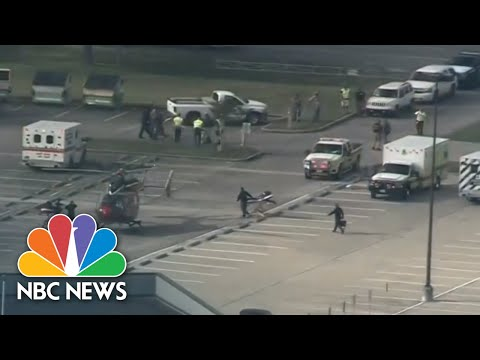 Santa Fe High School Shooting In Texas: Multiple Deaths Reported | NBC News (видео)