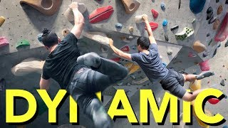 A DYNAMIC move Breakdown with Geek Climber by  rockentry
