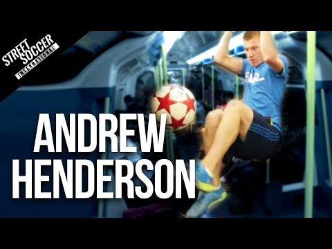 Andrew - PLEASE SUBSCRIBE LIKE/SHARE SUBSCRIBE http://www.youtube.com/subscription_center?add_user=STRskillSchool INSANE FOOTBALL SKILLS with Andrew Henderson in Lond...
