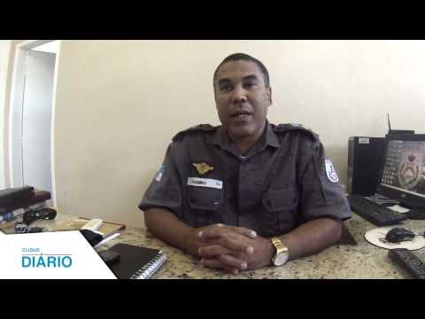 Coronel Ramiro Campos fala sobre operações em macaé - 28/04/2014