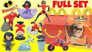 Video Disney Pixar's 2018 THE INCREDIBLES 2 McDonald's Happy Meal Toys Full Set MP3, 3GP, MP4, WEBM, AVI, FLV Oktober 2018