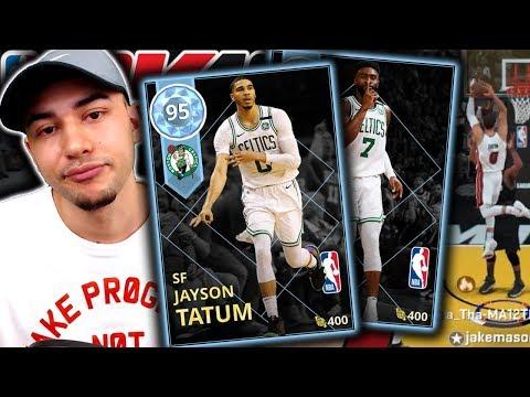 DIAMOND JAYSON TATUM + JAYLEN BROWN DUO GAMEPLAY! NBA 2K18 MyTeam