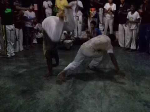 Roda de capoeira em Ferreira Gomes Amapá no polo de capoeira da A.D.C.C.BIMBINHA