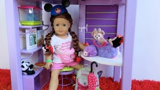 How to Pack for American Girl Doll Theme Park Day ~ Disney/Universal Studios