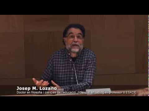'Espiritualitat i empresa: ¿Una contradicció?', amb Antonio Argandoña i Josep M. Lozano